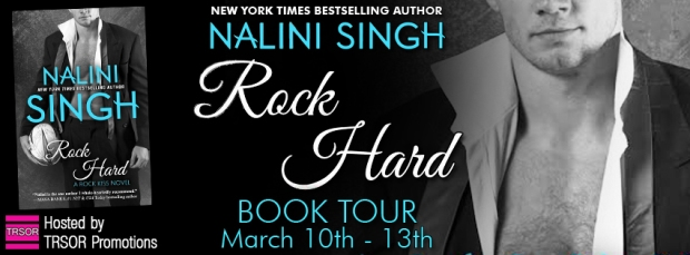 rock hard  book tour